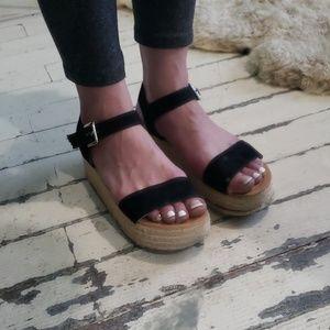 TopShop Mini Platform Sandles